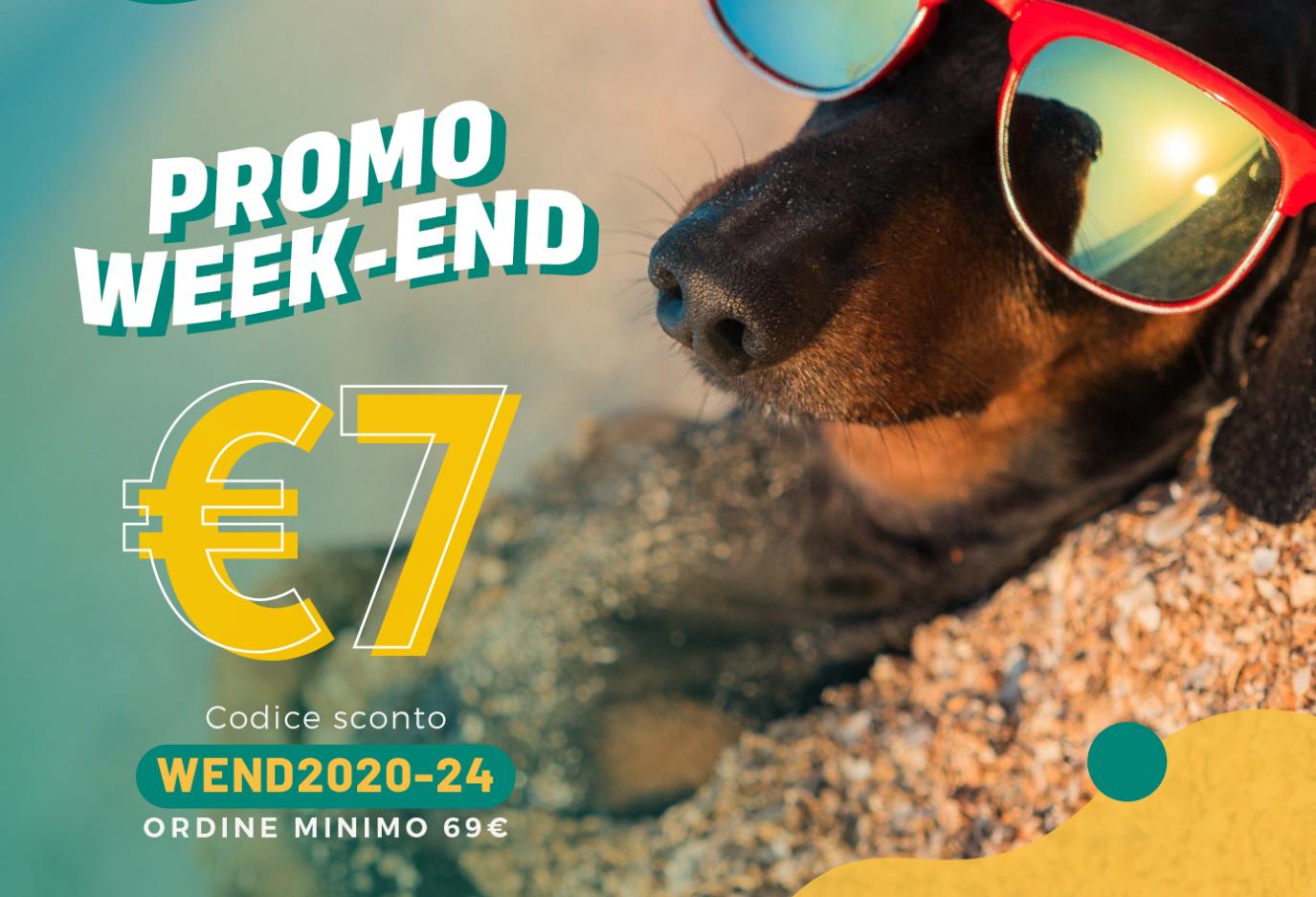 Promo Weekend SCONTO 7€ fino a Domenica 02 Agosto