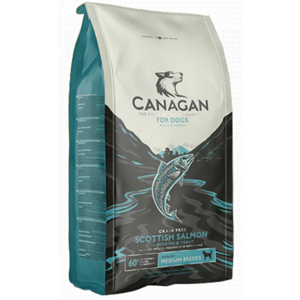 Image of Canagan Scottish Salmon Grain Free All Breeds Cane: 2 kg