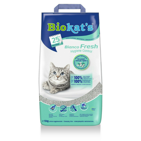 Image of Biokat's Bianco Fresh - Lettiera : 10 Kg Fresh