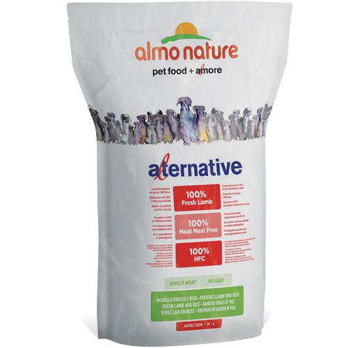 Almo Nature Alternative M-L Agnello Fresco e Riso 3,75 kg