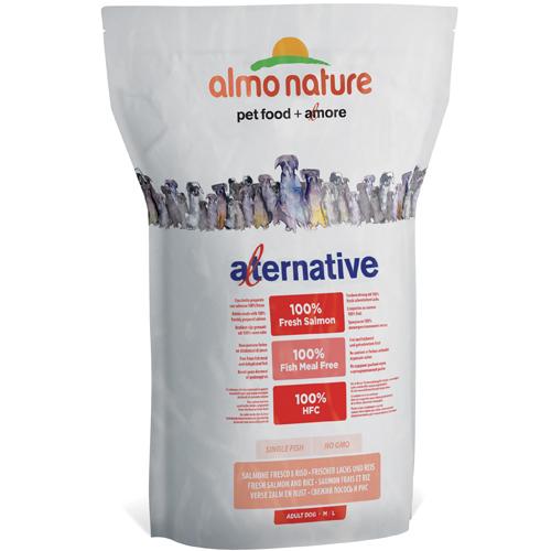 Almo Nature Alternative M-L Salmone Fresco e Riso 3,75 kg