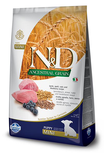 Image of N&D Low Grain Puppy Mini Agnello e Mirtilli 2,5 kg 9001324