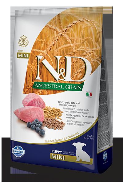 Image of N&D Low Grain Puppy Mini Agnello e Mirtilli 800 gr 9001329