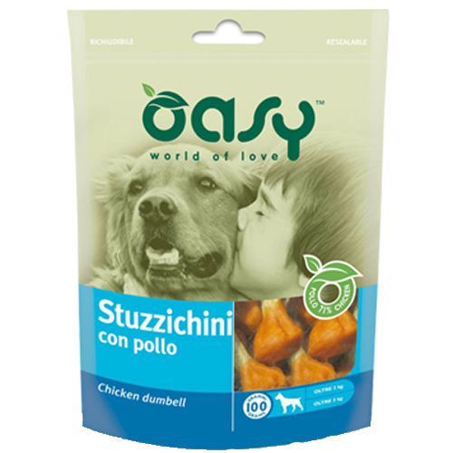 Image of Oasy Stuzzichini con pollo: 100 gr