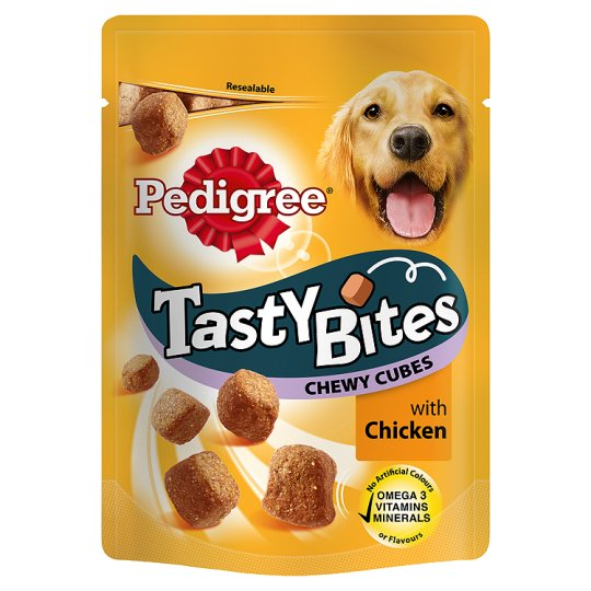 Image of Pedigree Tasty Bites Chewy Cubes: 130 gr