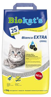 Image of Biokat's Bianco Extra Classic - Lettiera 5 Kg Extra Classic 9004231