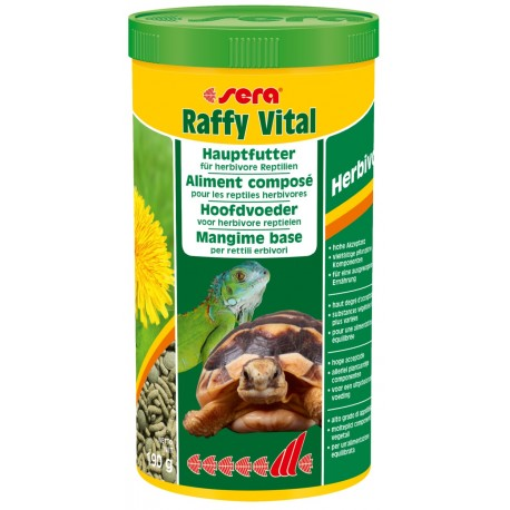 Image of Sera Raffy Reptil Erbivori : 250ml
