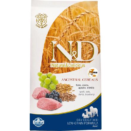 Image of N&D Low Grain Adult Mini Agnello e Mirtillo 7 kg 9007570