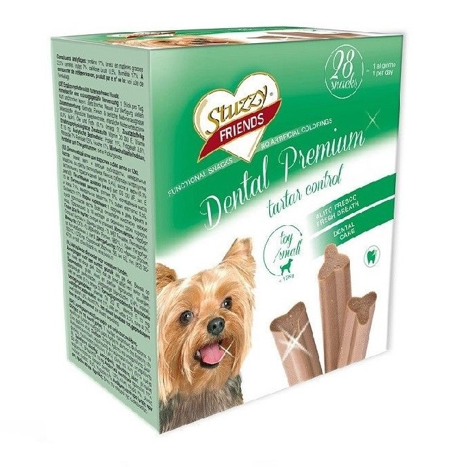 Stuzzy Friends Dental Premium Box 4x110 gr Medium