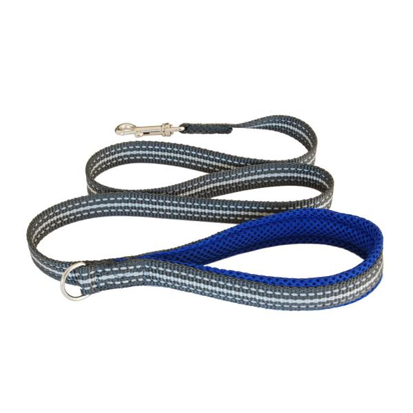 Image of Guinzaglio Cortina Blu elettrico size 7/8 20 mm - lung.120 cm 9015158