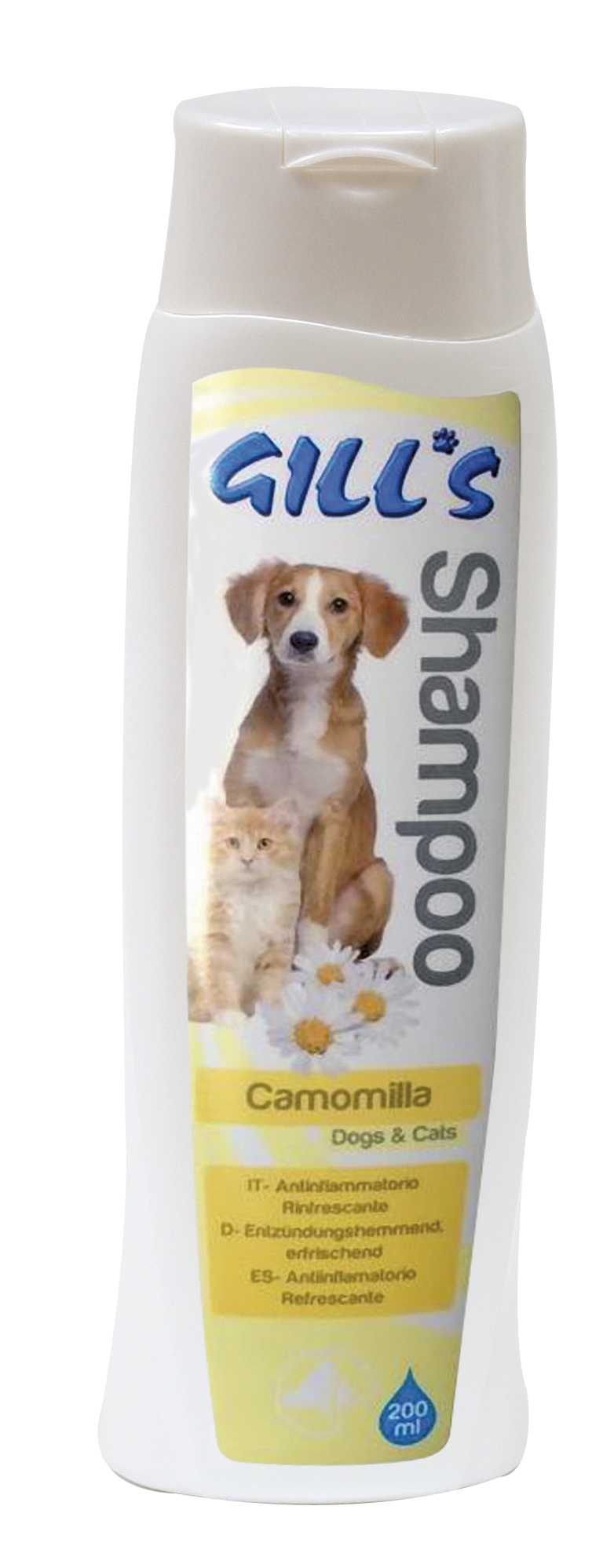 Image of Gill's Shampoo Camomilla 200 ml 9018428