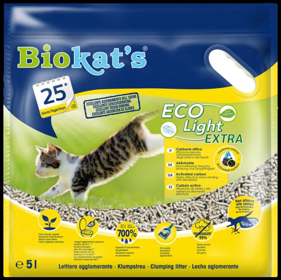 Image of Biokat's EcoLight Extra - Lettiera: 5 litri