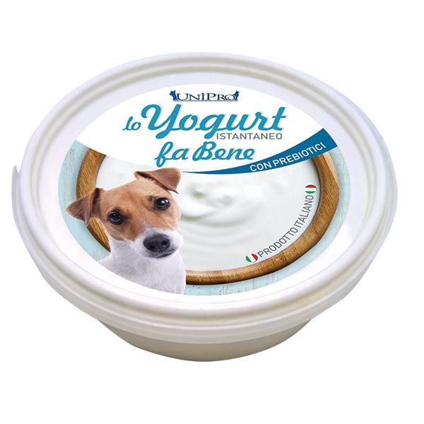 Image of Unipro Yogurt Cremoso Istantaneo per Cani: 25 gr