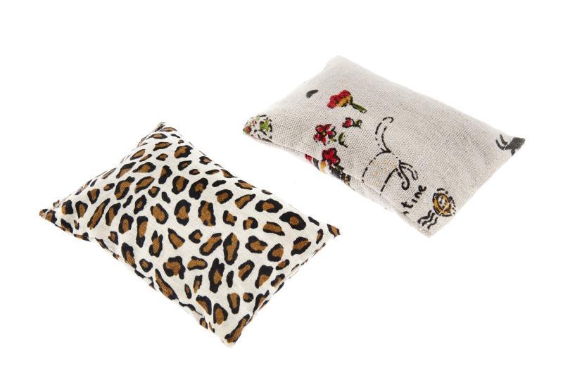Cuscino con Catnip e Matatabi Ferribiella: 1 cuscino (10 x 7 cm)