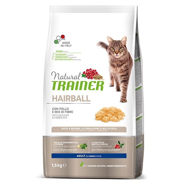 Image of Trainer Natural Hairball Pollo: 1,5 kg