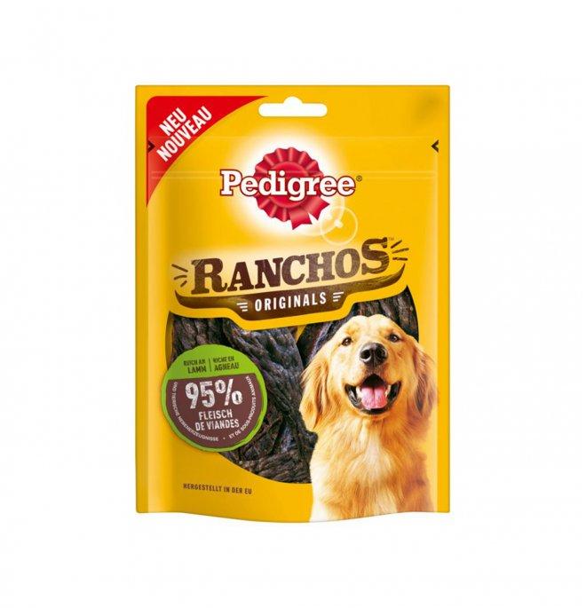 Image of Pedigree Snack Ranchos 70 gr: Manzo