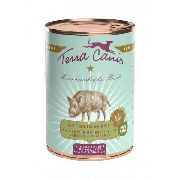 Terra Canis Grain Free 400 gr Cinghiale con barbabietola e castagne