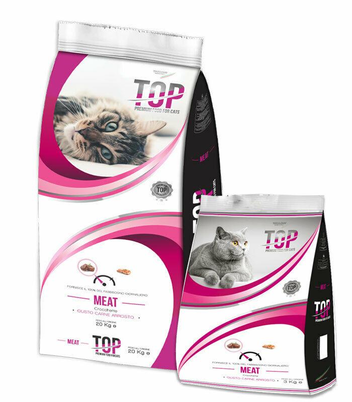 Image of Top Cat Premium Carne Arrosto: 20 kg