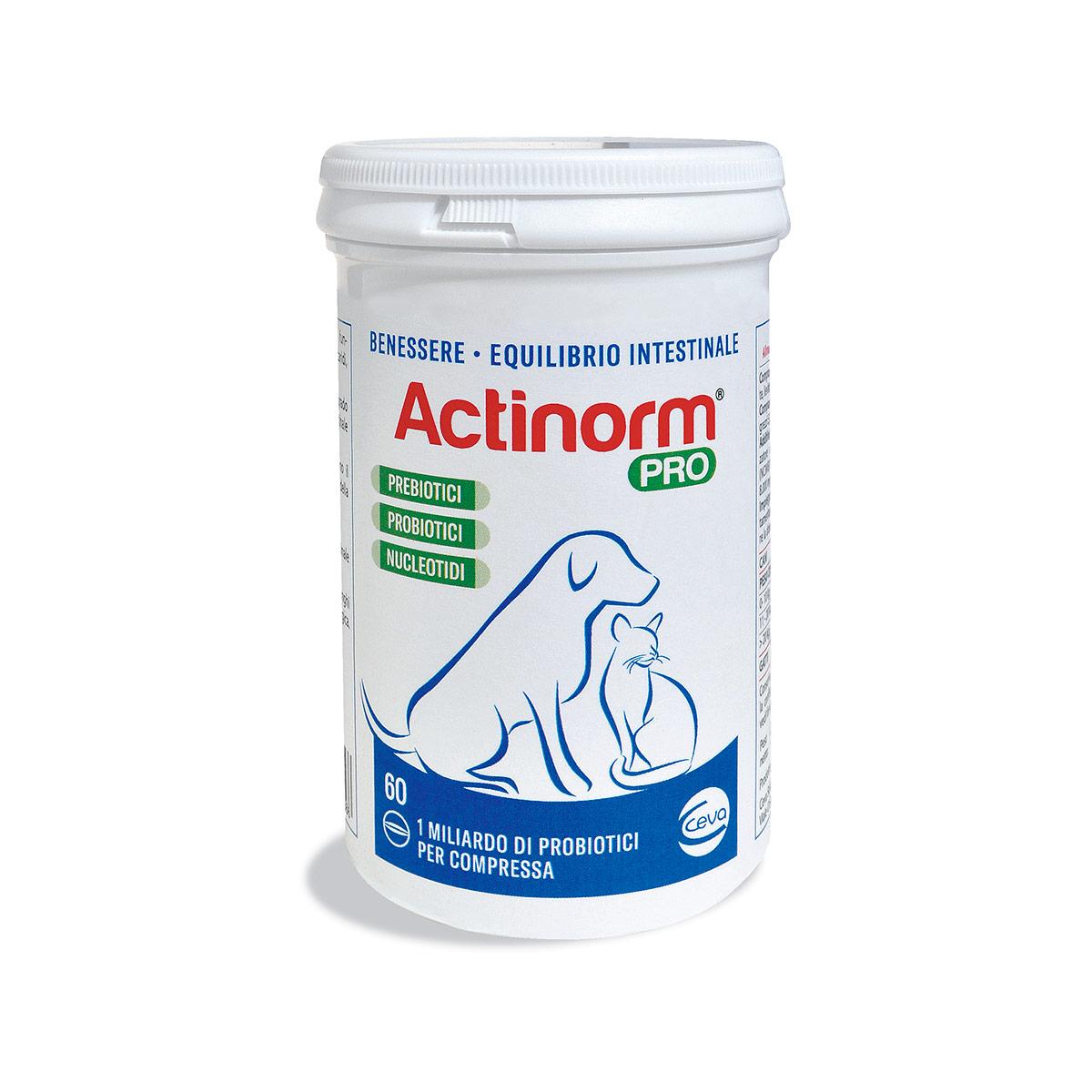 Image of Actinorm Pro per Cani e Gatti : 1 confezione da 60 compresse
