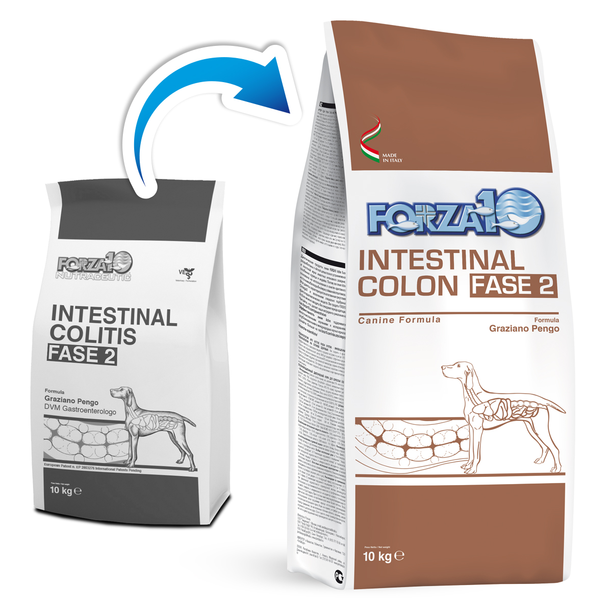 Image of Forza10 Intestinal Colon Fase 2: 4 kg