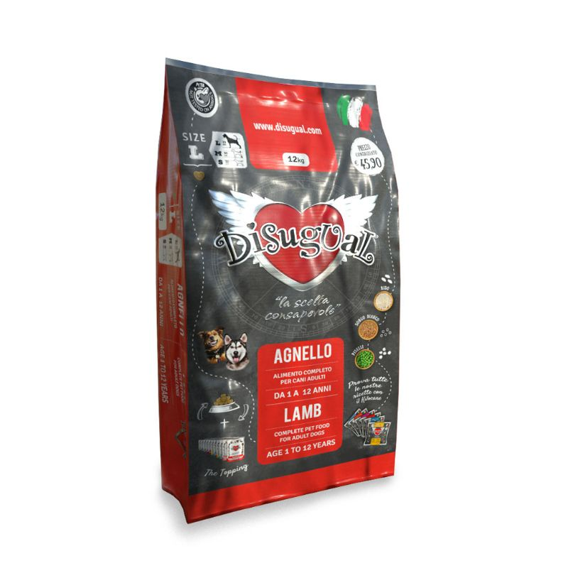 Image of Disugual Agnello Adult Large 12 kg 9000389