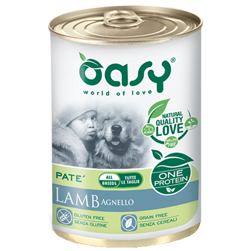 Image of Oasy Monoproteico Adult 400 gr: Agnello