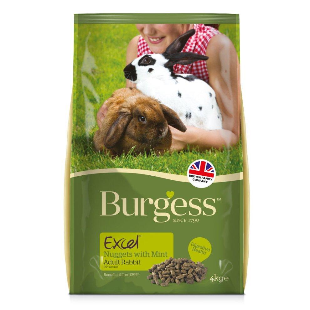 Image of Burgess Excel Coniglio Adult Menta : 2 kg