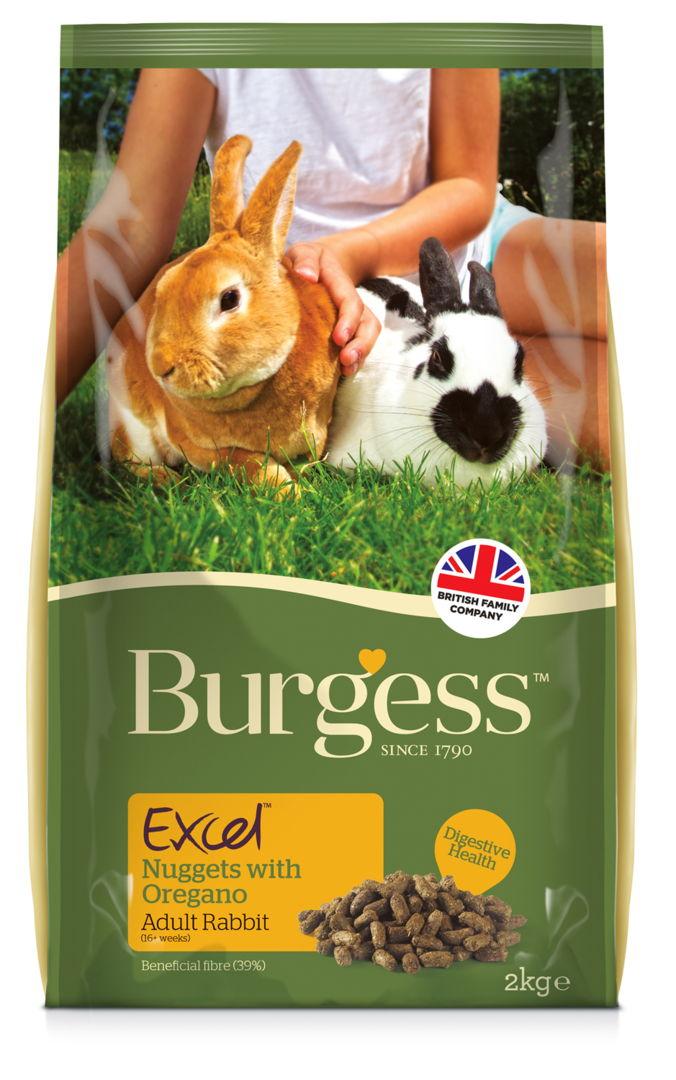 Image of Burgess Excel Coniglio Adult Origano: 2 kg