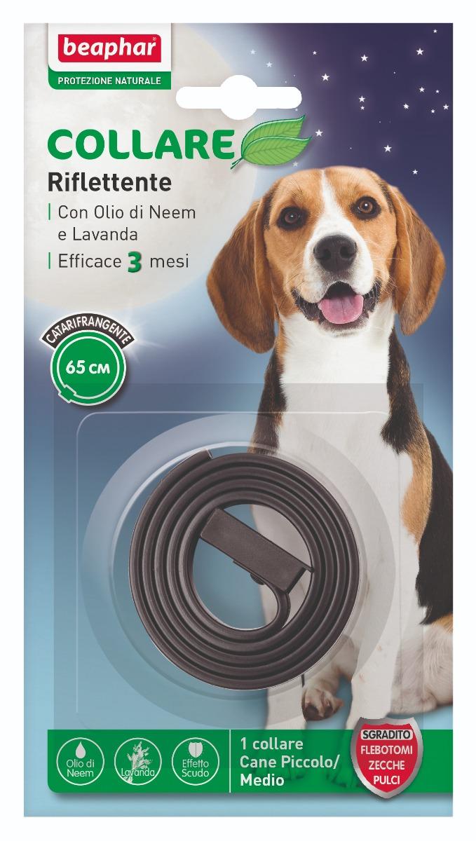 Beaphar Protezione Naturale Collare Cane Riflettente 65 cm
