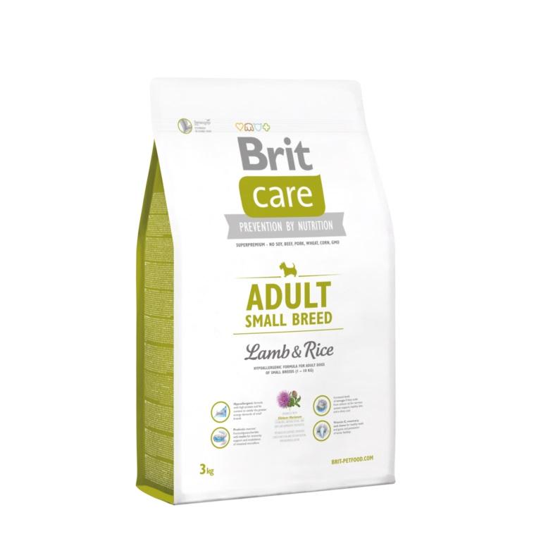 Image of Brit Care Adult Small Breed Agnello e Riso: 3 Kg
