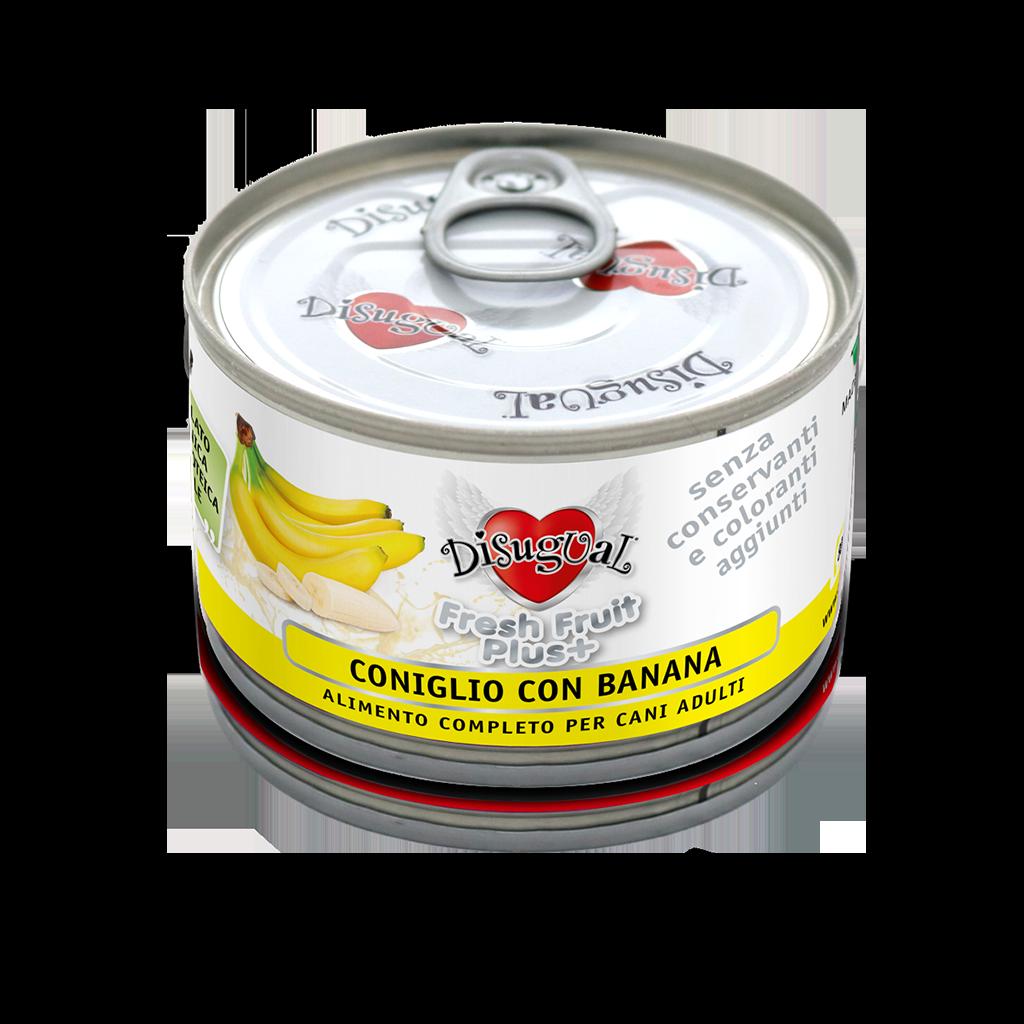 Image of Disugual Fresh Fruit Plus 150 gr Coniglio con Banana 9007260
