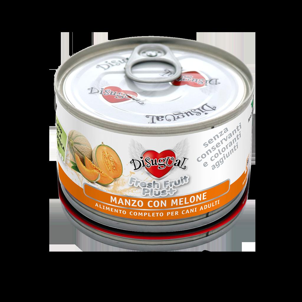 Image of Disugual Fresh Fruit Plus 150 gr Manzo con Melone 9000354
