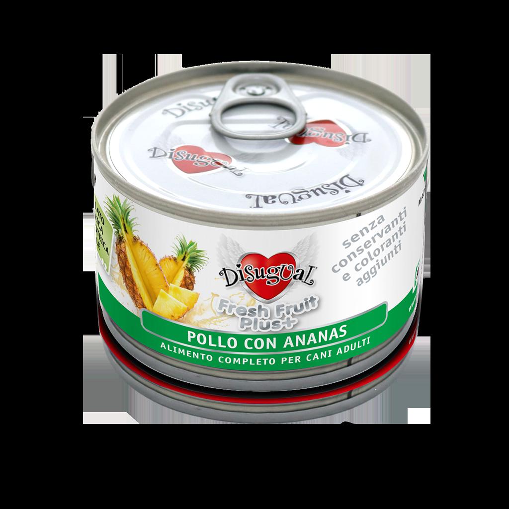 Image of Disugual Fresh Fruit Plus 150 gr Pollo con Ananas 9000353