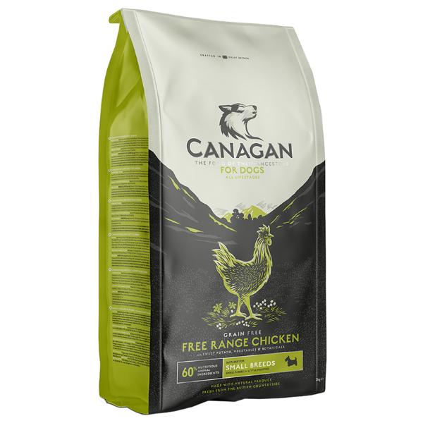 Image of Canagan Free Range Pollo Small Breed Grain Free Cane: 2 kg