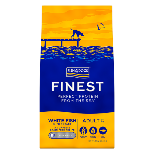 Image of Fish4Dogs Ocean White Fish Large: 12 kg