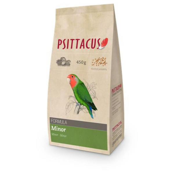 Image of Psittacus Pienso Minor : 450 gr - Tg 8