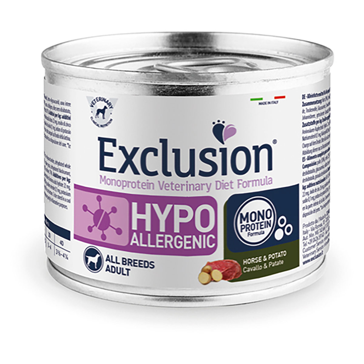 Image of Exclusion Diet Hypoallergenic 200 gr: Maiale e Piselli
