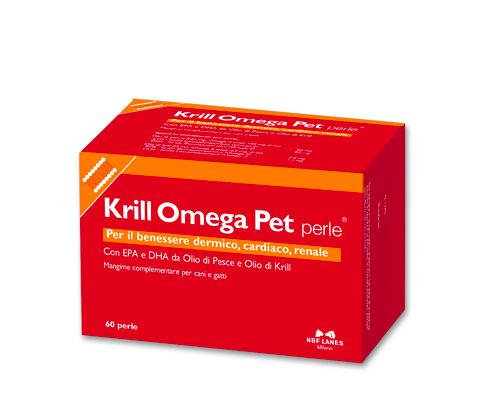 Krill Omega Pet perle : 1 confezione da 60 perle
