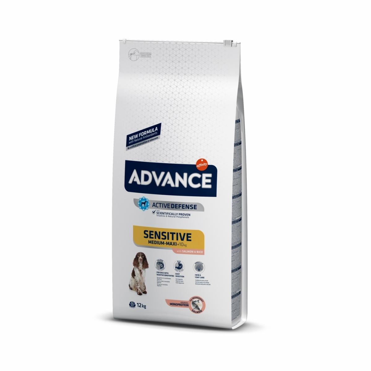 Image of Advance Adult Sensitive Medium Maxi Salmone e Riso: 3 kg
