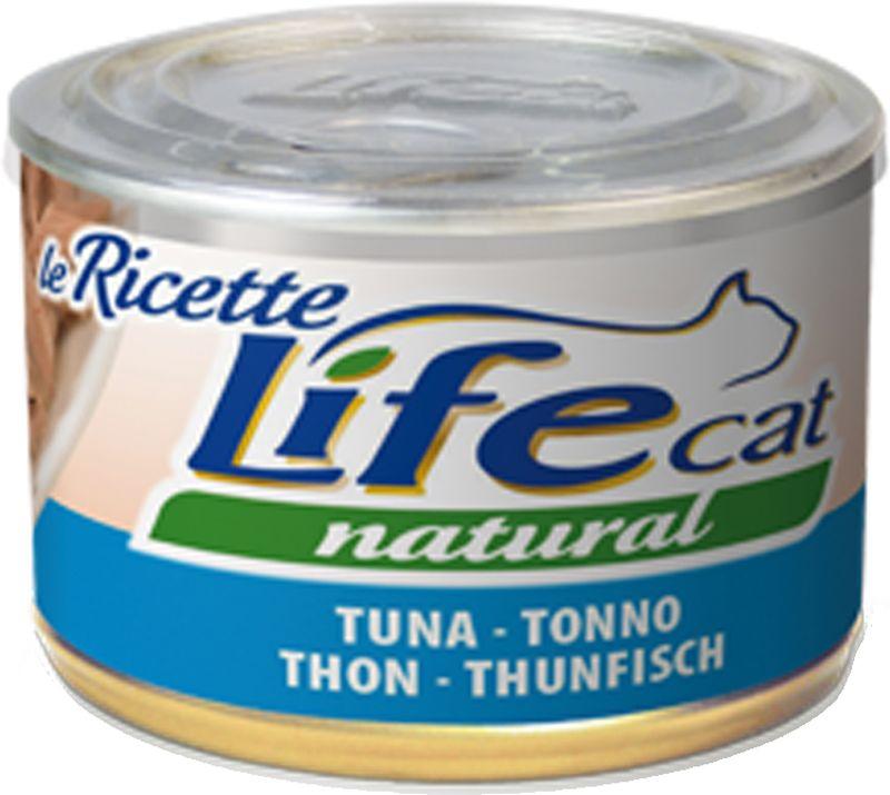"""LifeCat Natural """"Le Ricette"""" 150 gr Tonno"""