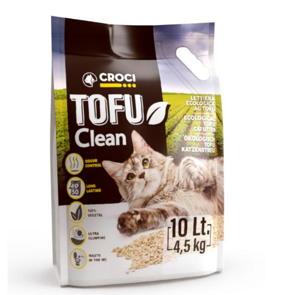 Lettiera Tofu Clean Croci: 10 lt