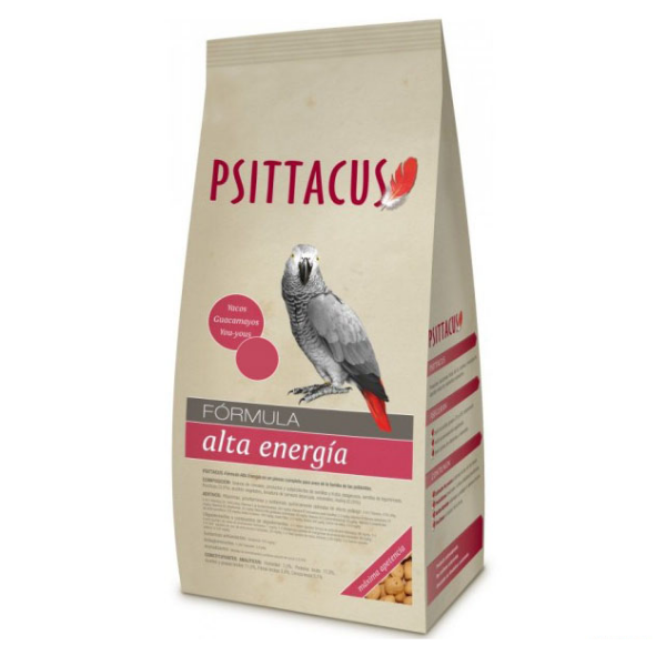 Image of Psittacus Mantenimento Alta Energia : 800 gr - Tg 8