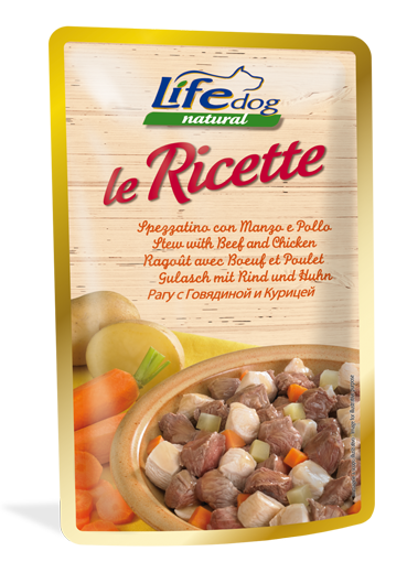 Image of LifeDog Le Ricette 95 gr: Pollo in Stile Provenzale