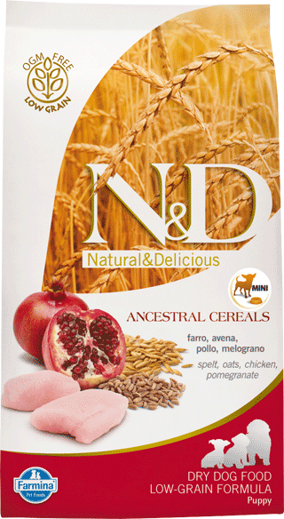 Image of N&D Low Grain Adult Medium Pollo e Melograno 2,5 kg 9001322