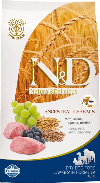 Image of N&D Low Grain Adult Mini Agnello e Mirtillo 800 gr 9001325