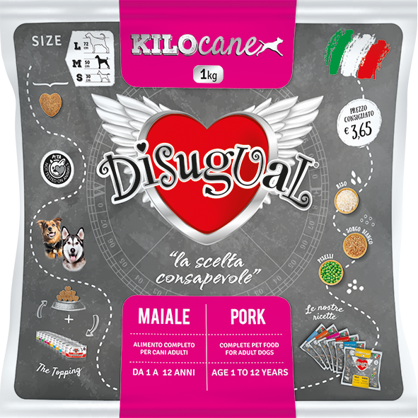 Image of Disugual Adult Maiale 1 kg 9021505