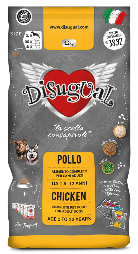 Image of Disugual Adult Pollo 12 kg 9000396
