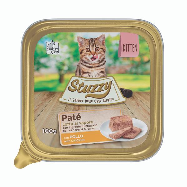 Image of Mister Stuzzy Cat Kitten con Pollo: 100 gr
