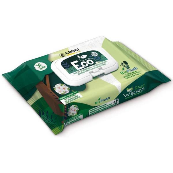 Image of Salviette Eco Croci: 30 pz-Mandorla e Burro di Karitè