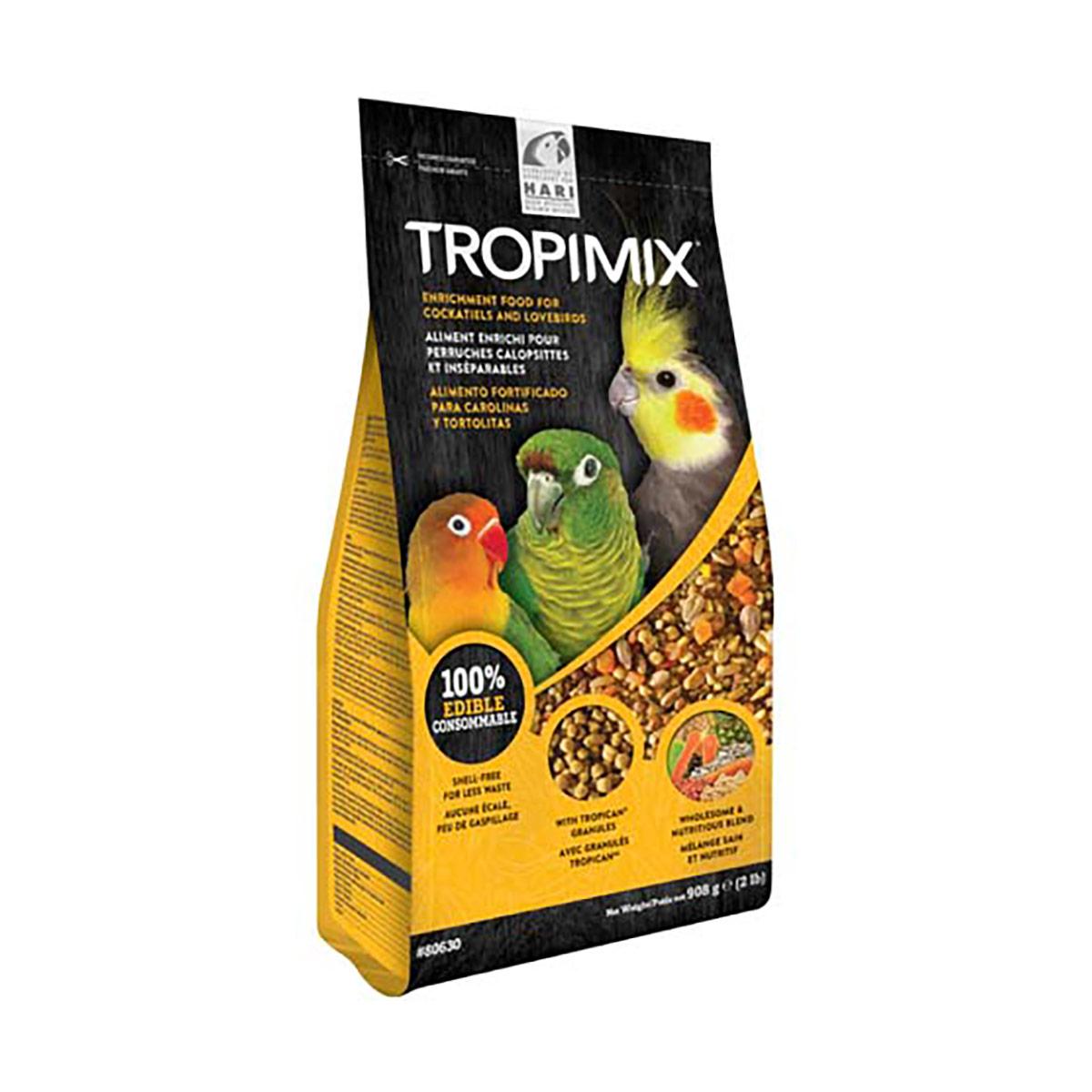 Image of Hari Tropimix Cockatiels and Lovebirds : 908 gr